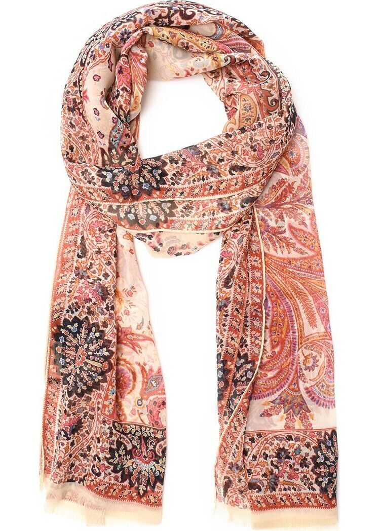ETRO Cotton Scarf PINK