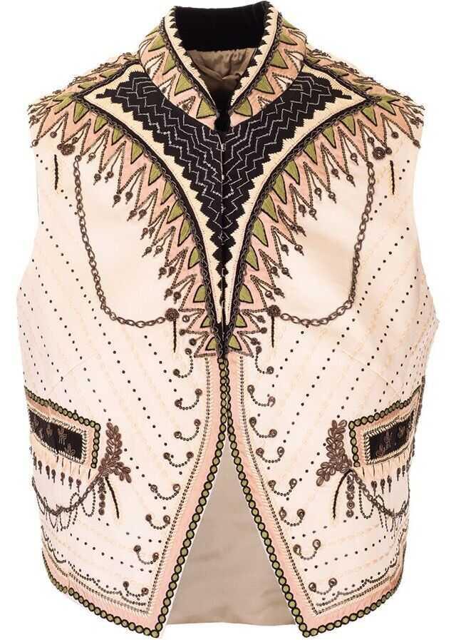 ETRO Silk Vest BEIGE