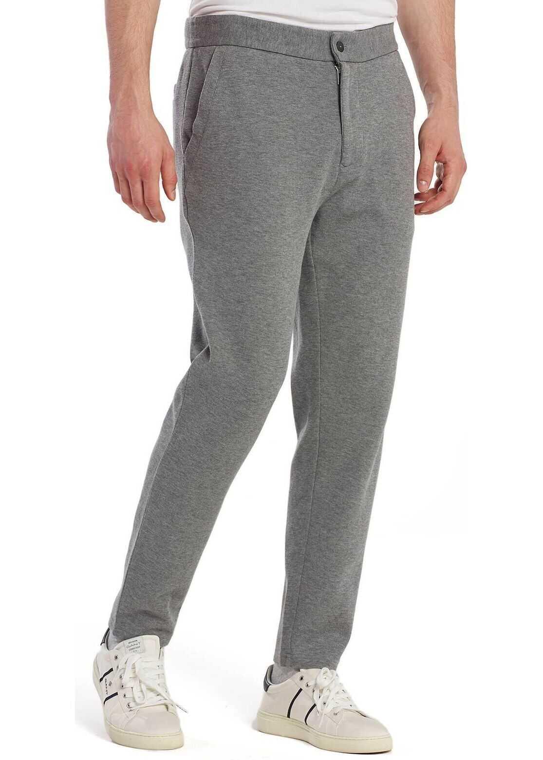 GANT Cotton Pants GREY