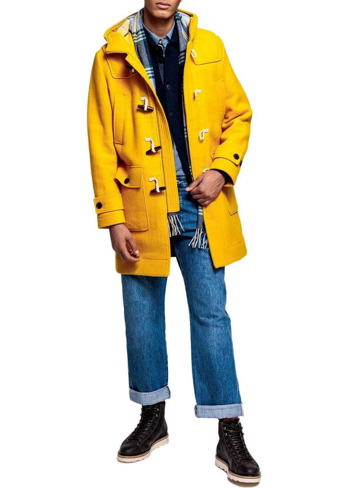 GANT Wool Coat YELLOW