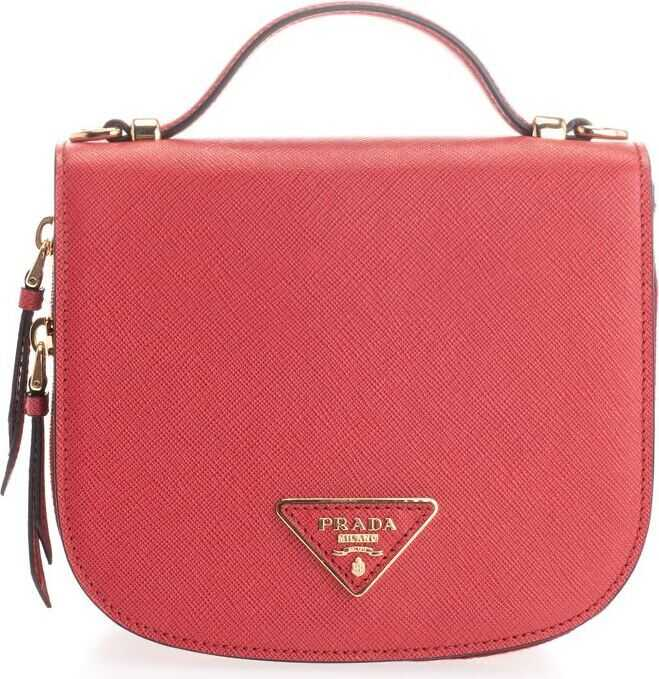 Prada Leather Backpack RED