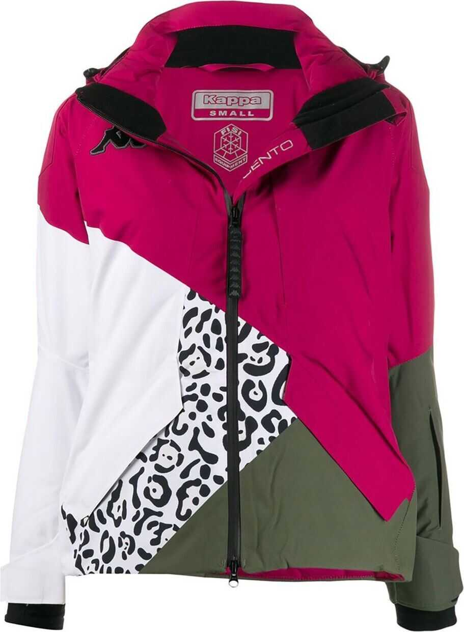 Kappa Synthetic Fibers Outerwear Jacket MULTICOLOR