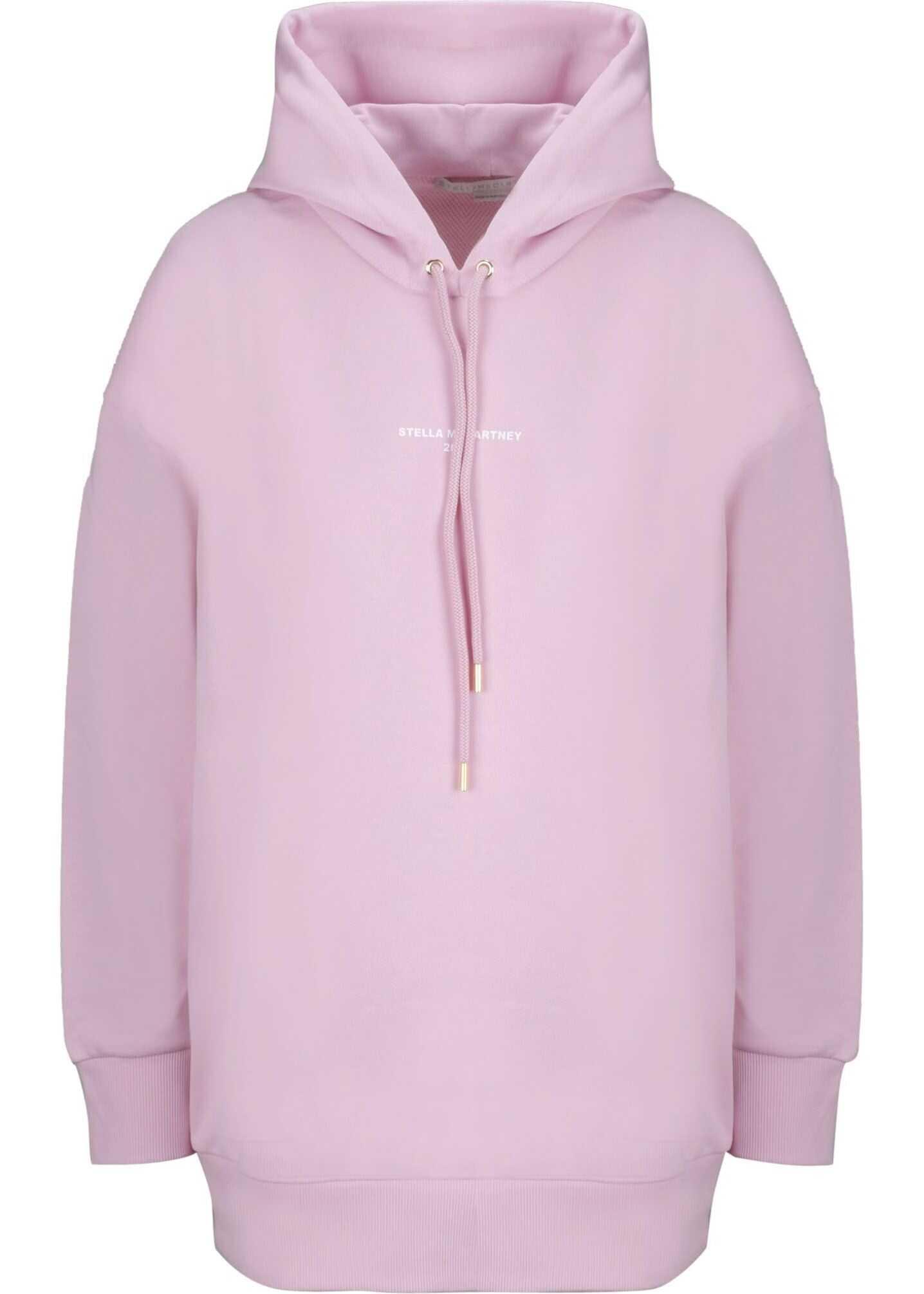 adidas by Stella McCartney Cotton Sweatshirt PINK
