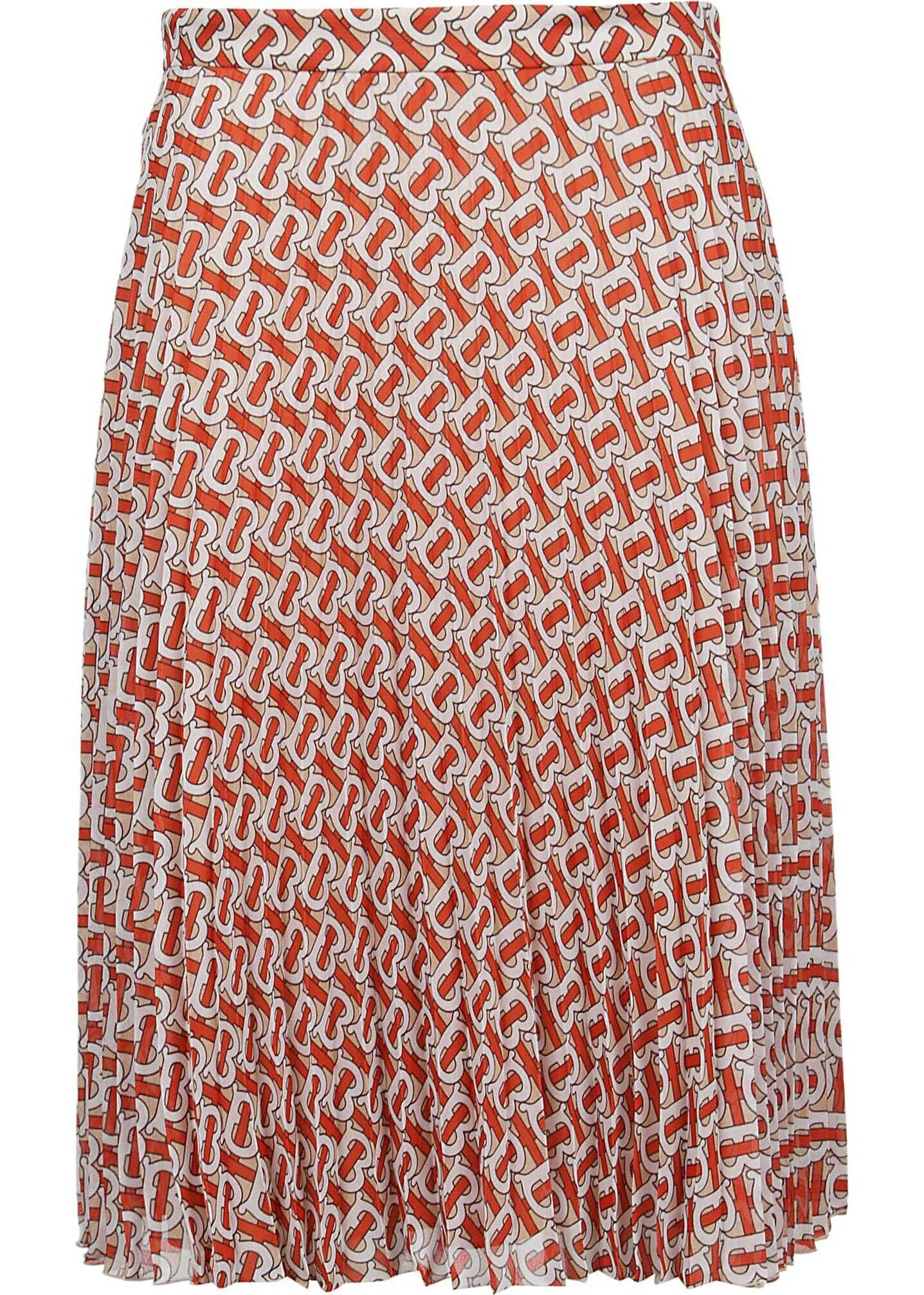 Burberry Polyester Skirt RED