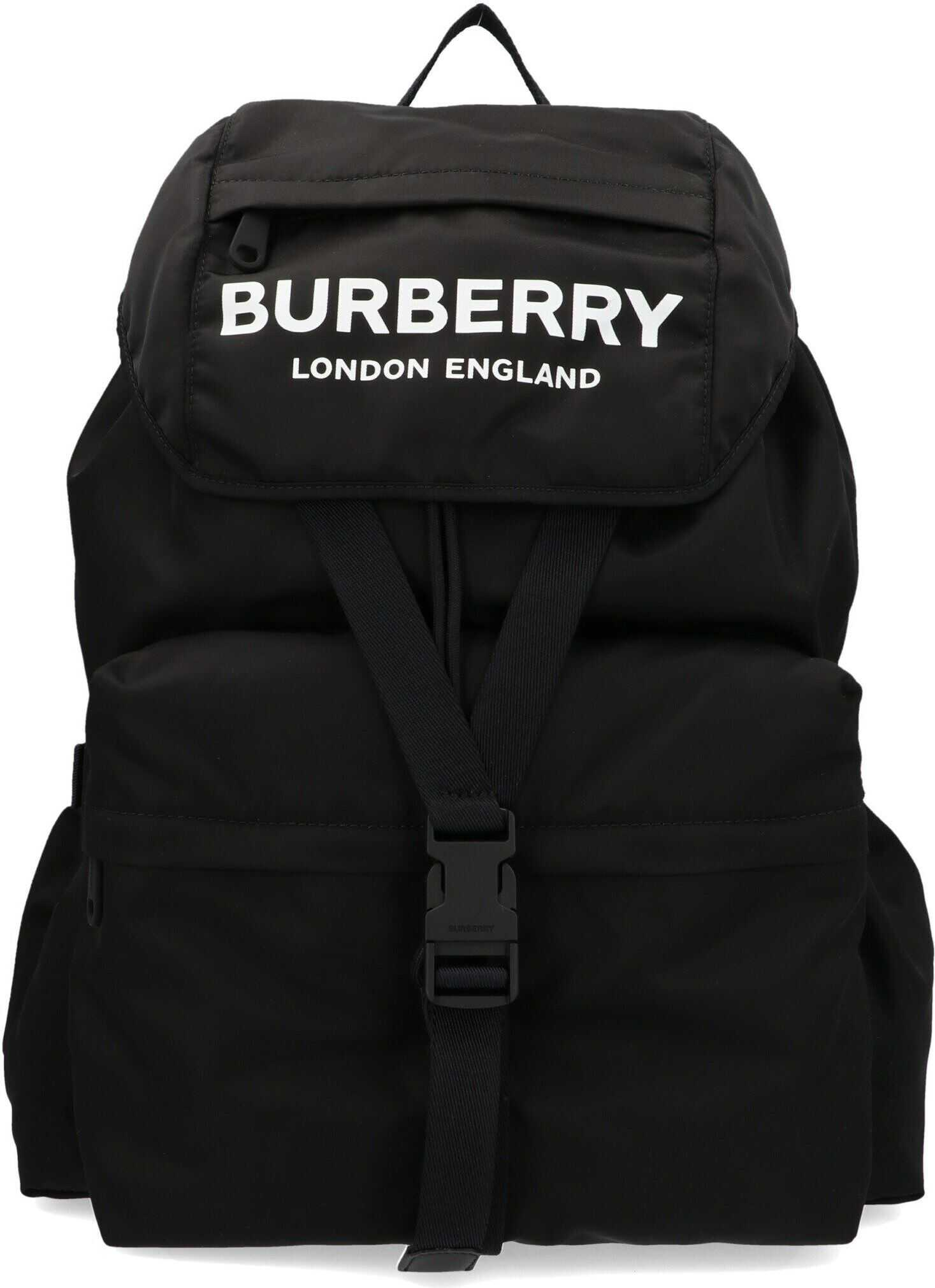 Burberry Polyamide Backpack BLACK