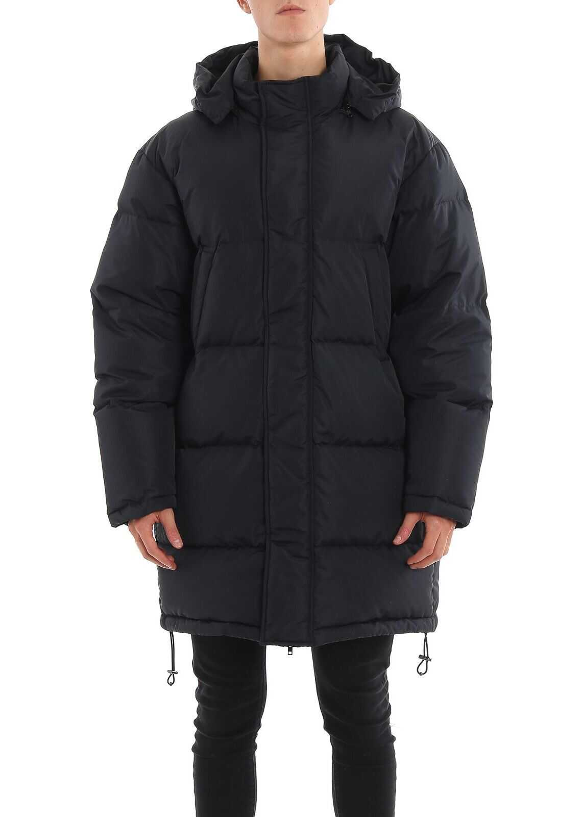 Moschino Polyamide Down Jacket BLACK