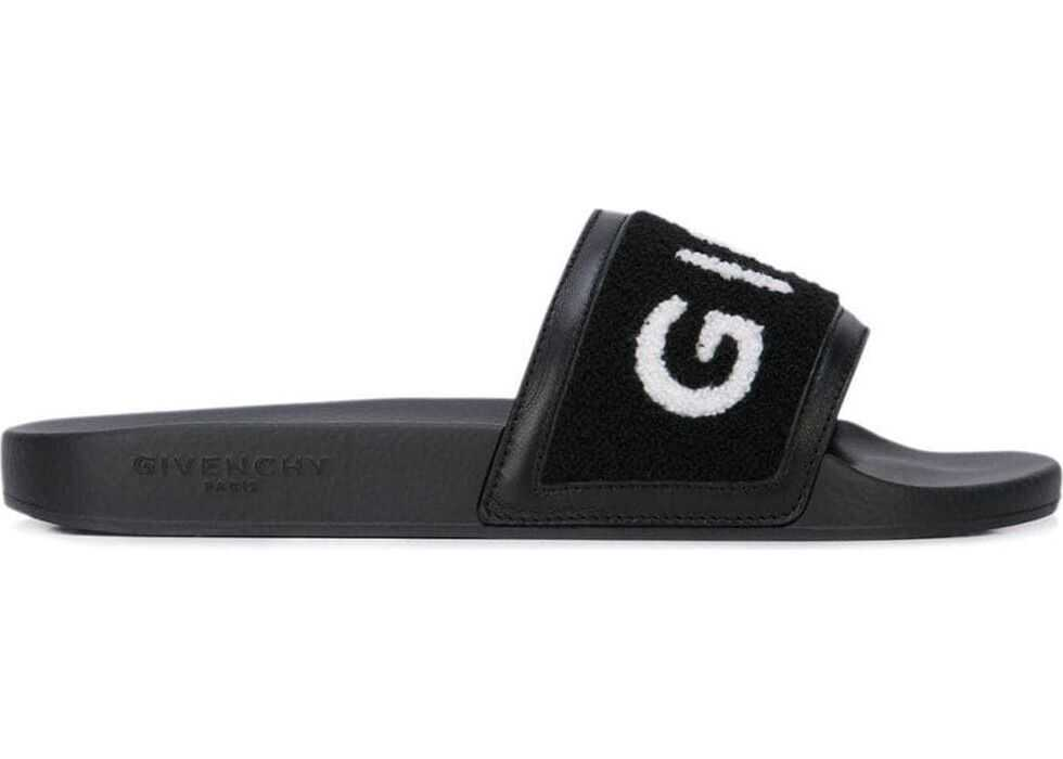 Givenchy Cotton Sandals BLACK
