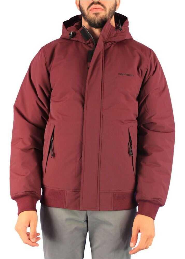 Carhartt Nylon Down Jacket BURGUNDY