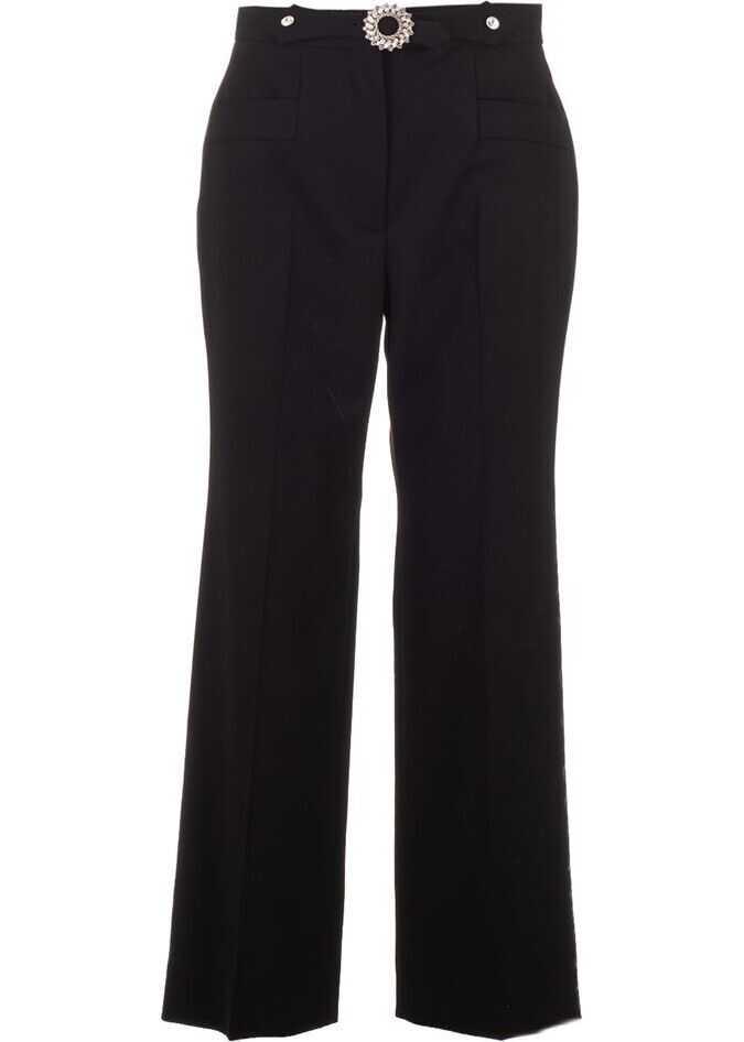 Miu Miu Wool Pants BLACK