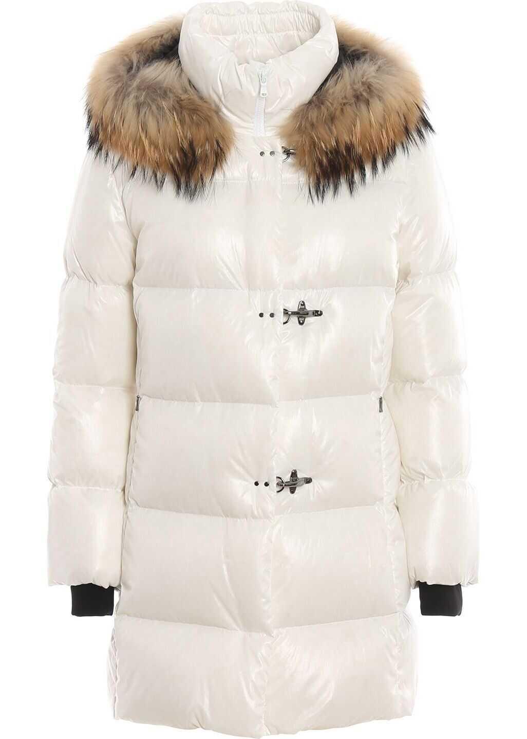 Fay Polyamide Outerwear Jacket WHITE