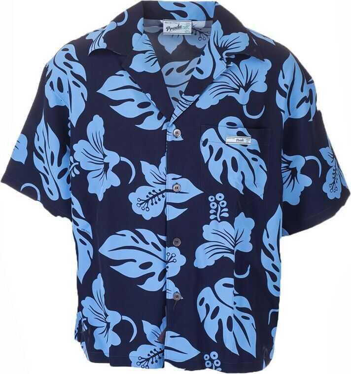Prada Viscose Shirt LIGHT BLUE