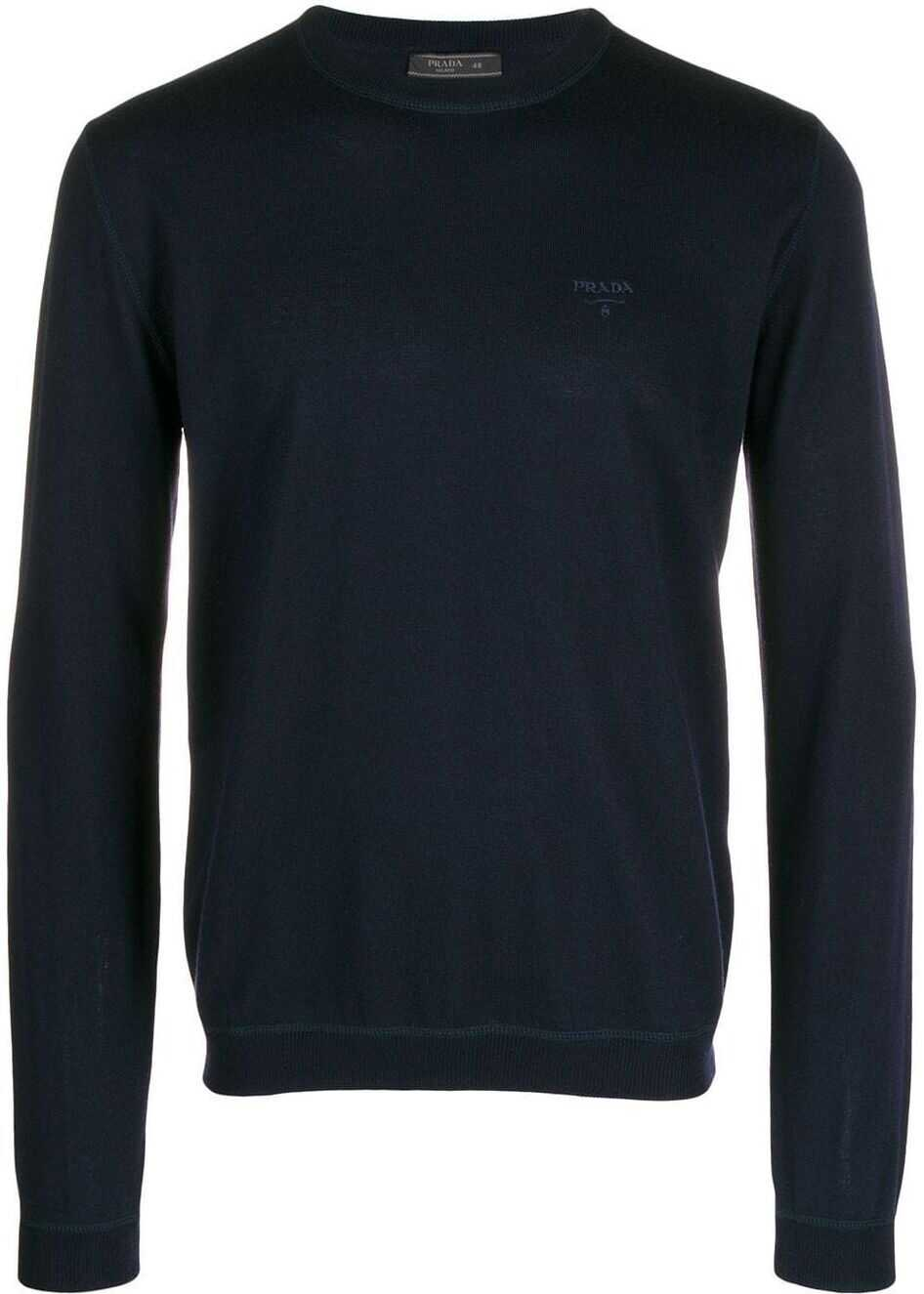 Prada Wool Sweater BLUE
