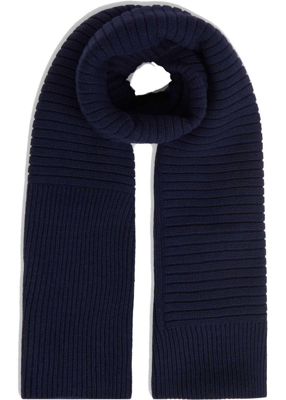 Woolrich Wool Scarf BLUE