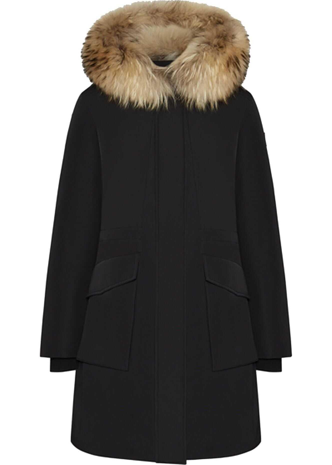 Woolrich Polyamide Outerwear Jacket BLACK