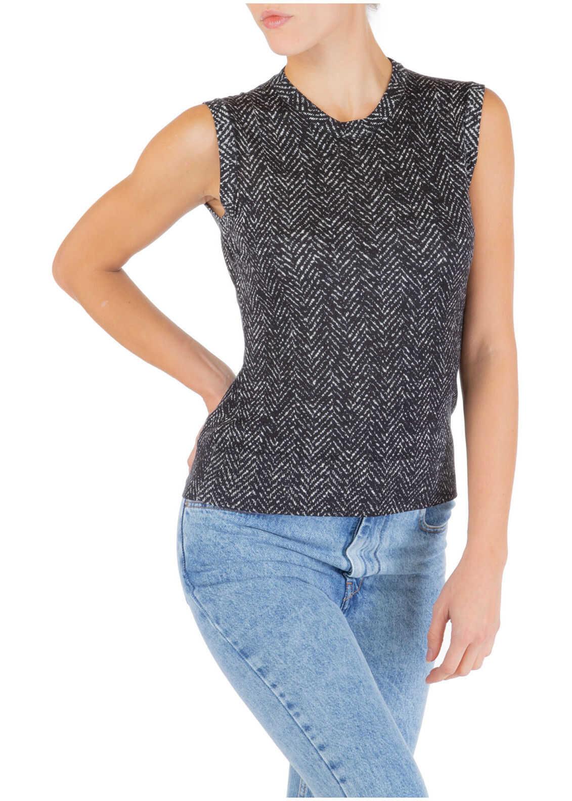 Dolce & Gabbana Top Vest Black