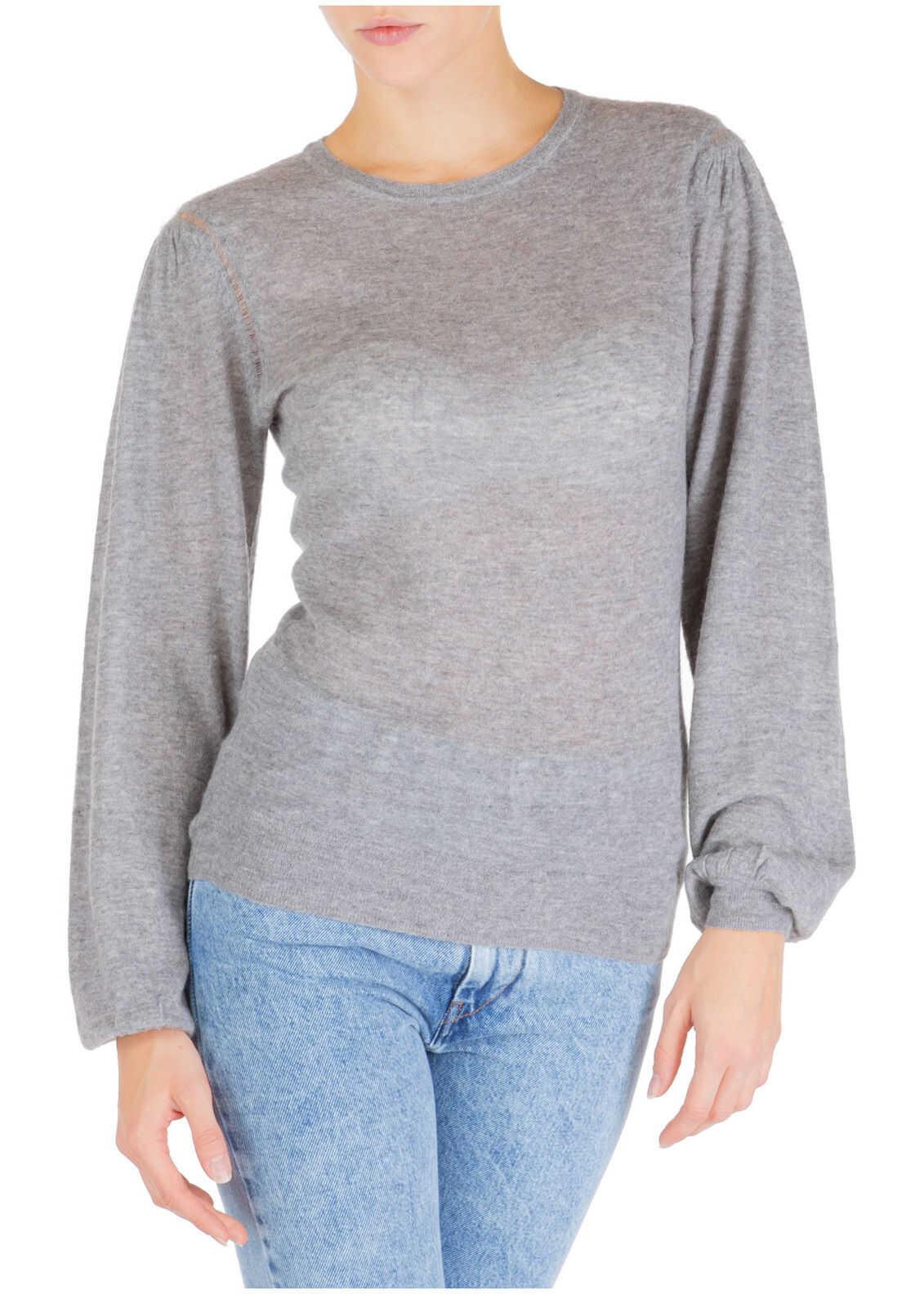 Isabel Marant Neck Round Grey