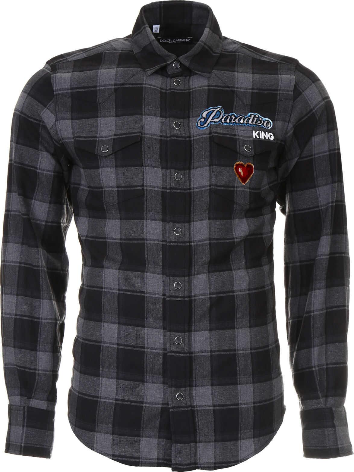 Dolce & Gabbana Paradise Check Shirt QUADRI CHECK TARTAN