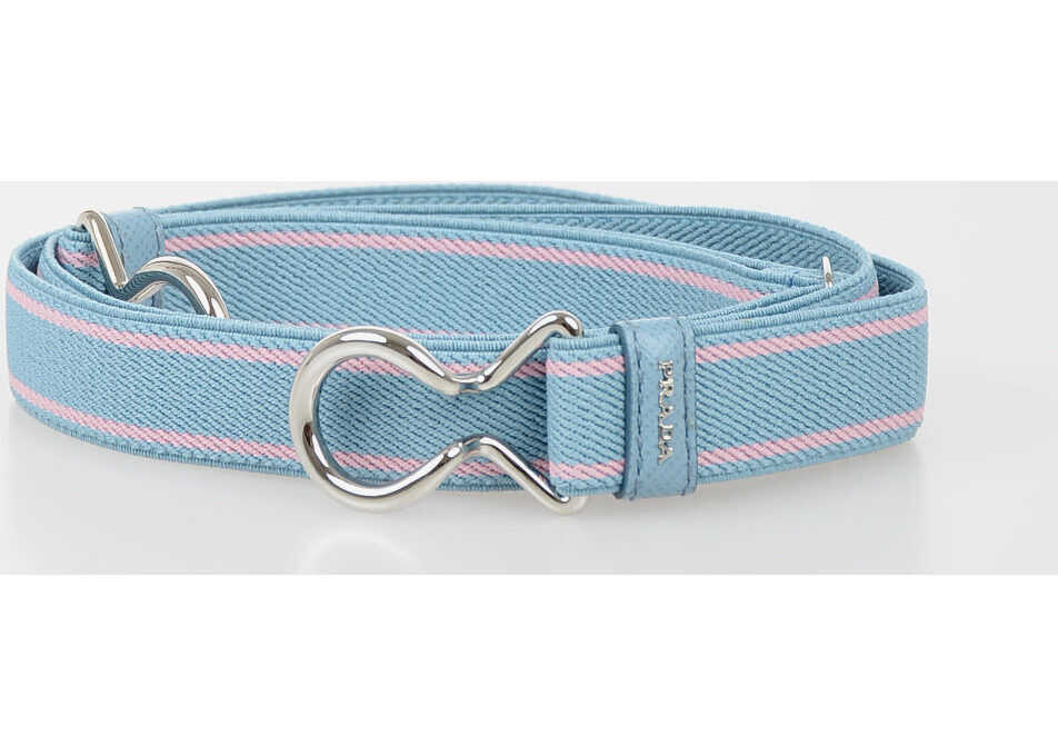 Prada 20mm Stretch Belt BLUE