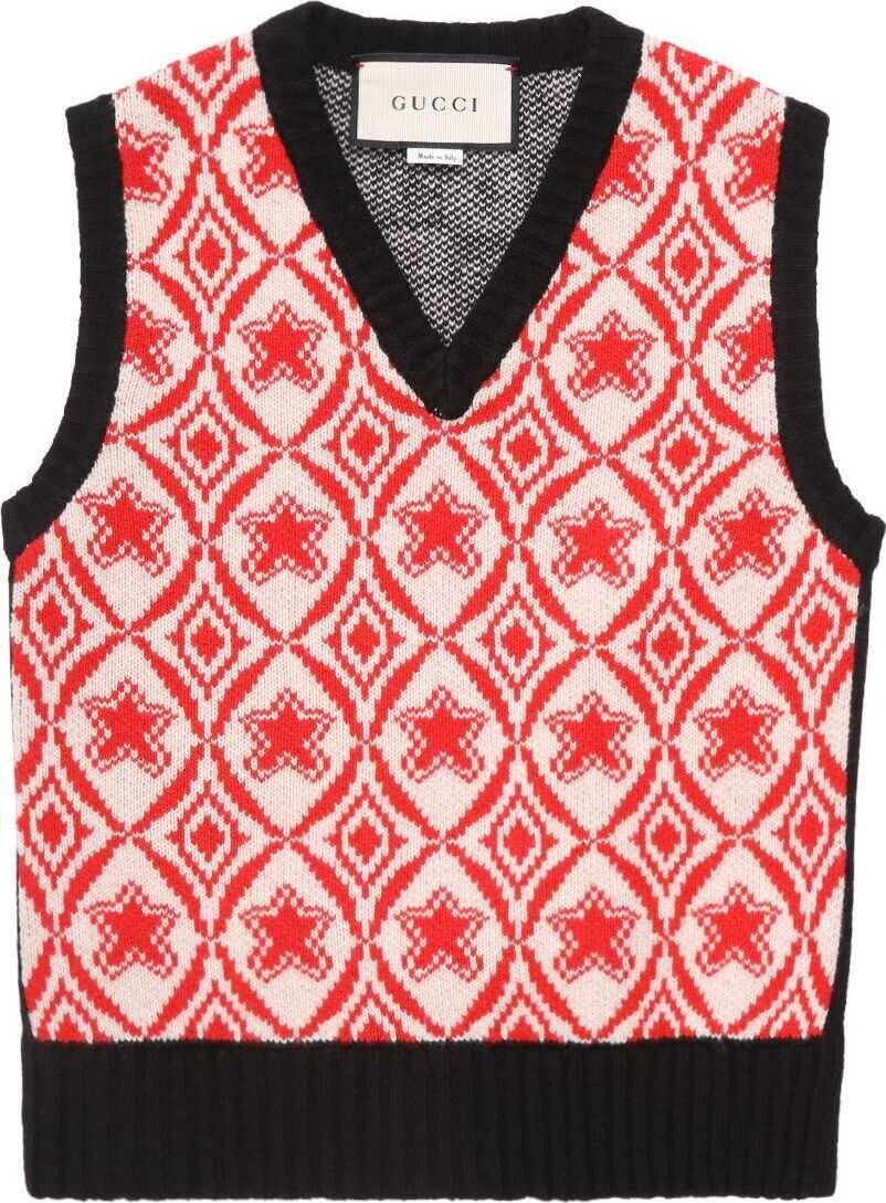 Gucci Wool Vest RED