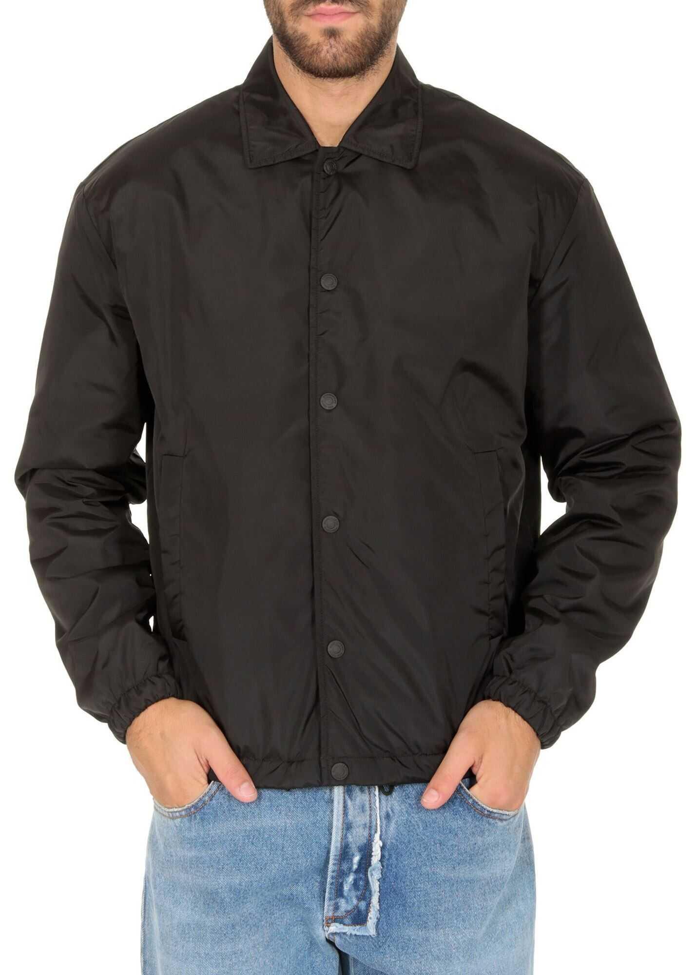 DSQUARED2 Nylon Caban In Black Black