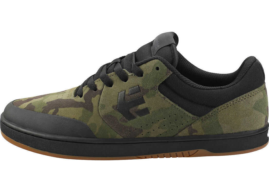 etnies Marana Skate Trainers In Camouflage Green