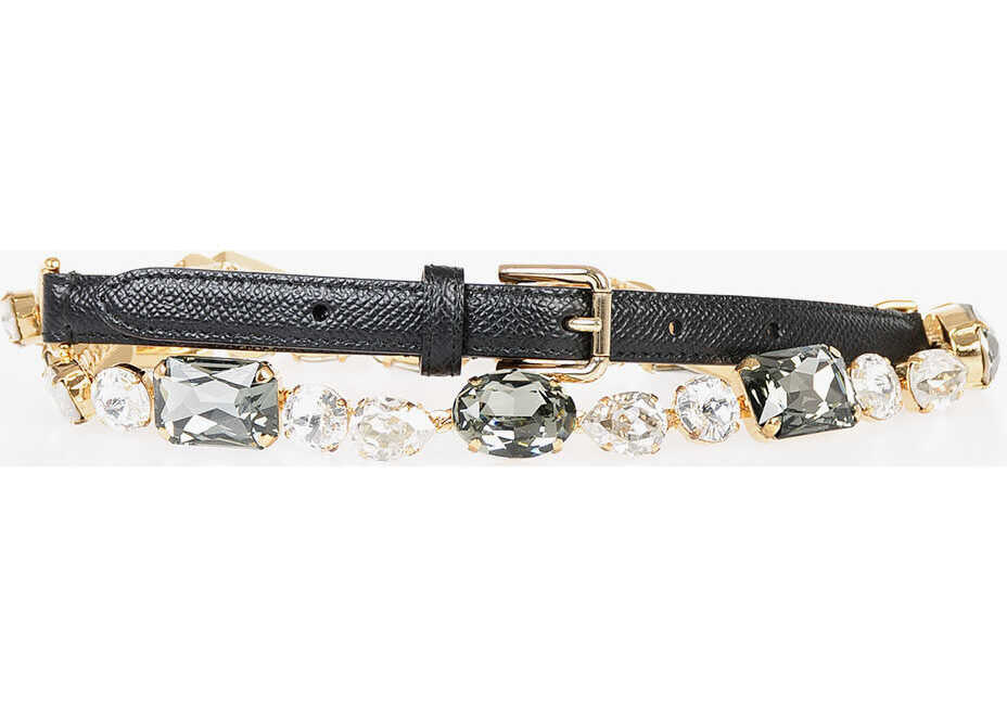 Dolce & Gabbana 10mm Jewel Belt MULTICOLOR