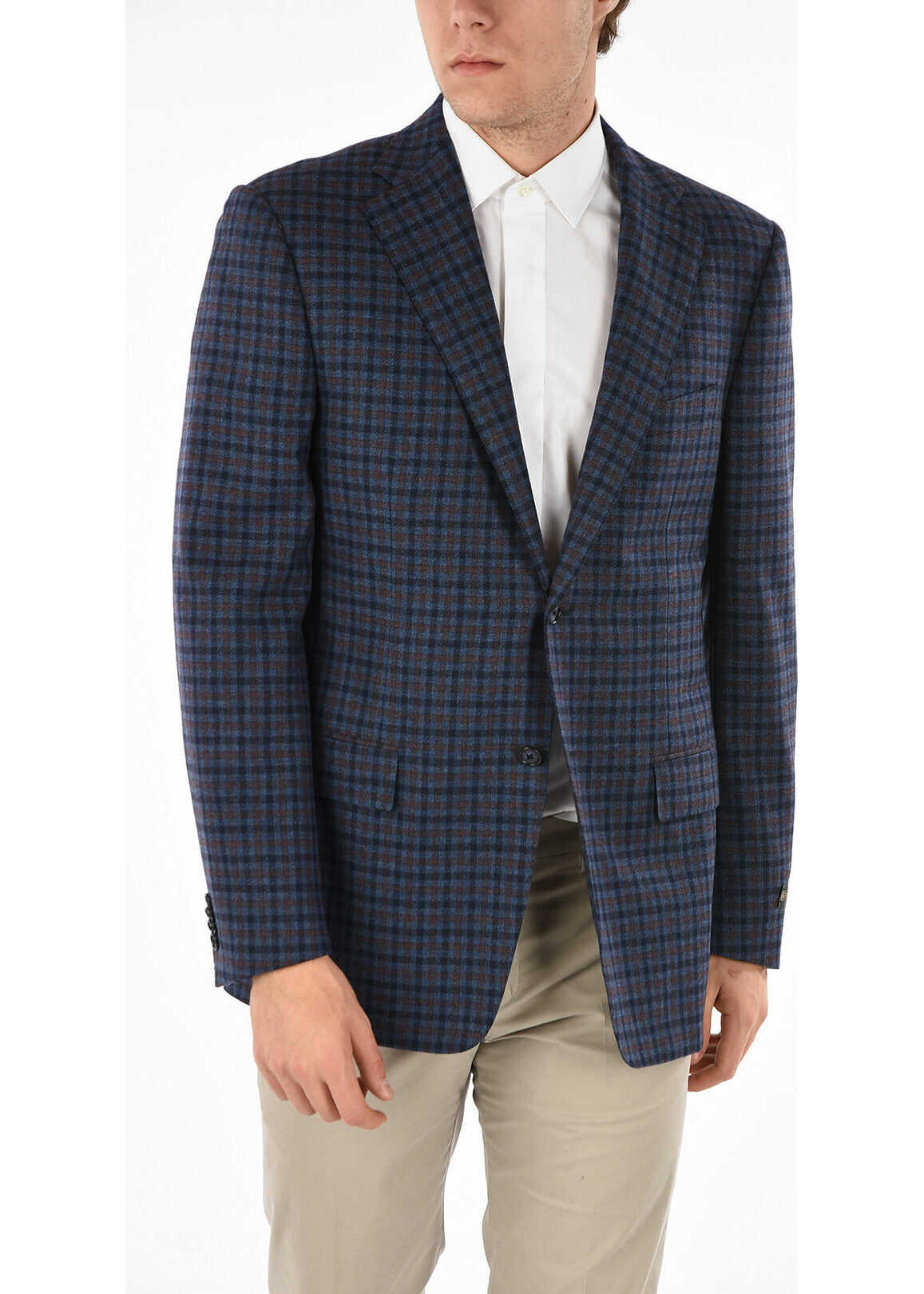 Gun Club Check 2 Button Blazer thumbnail
