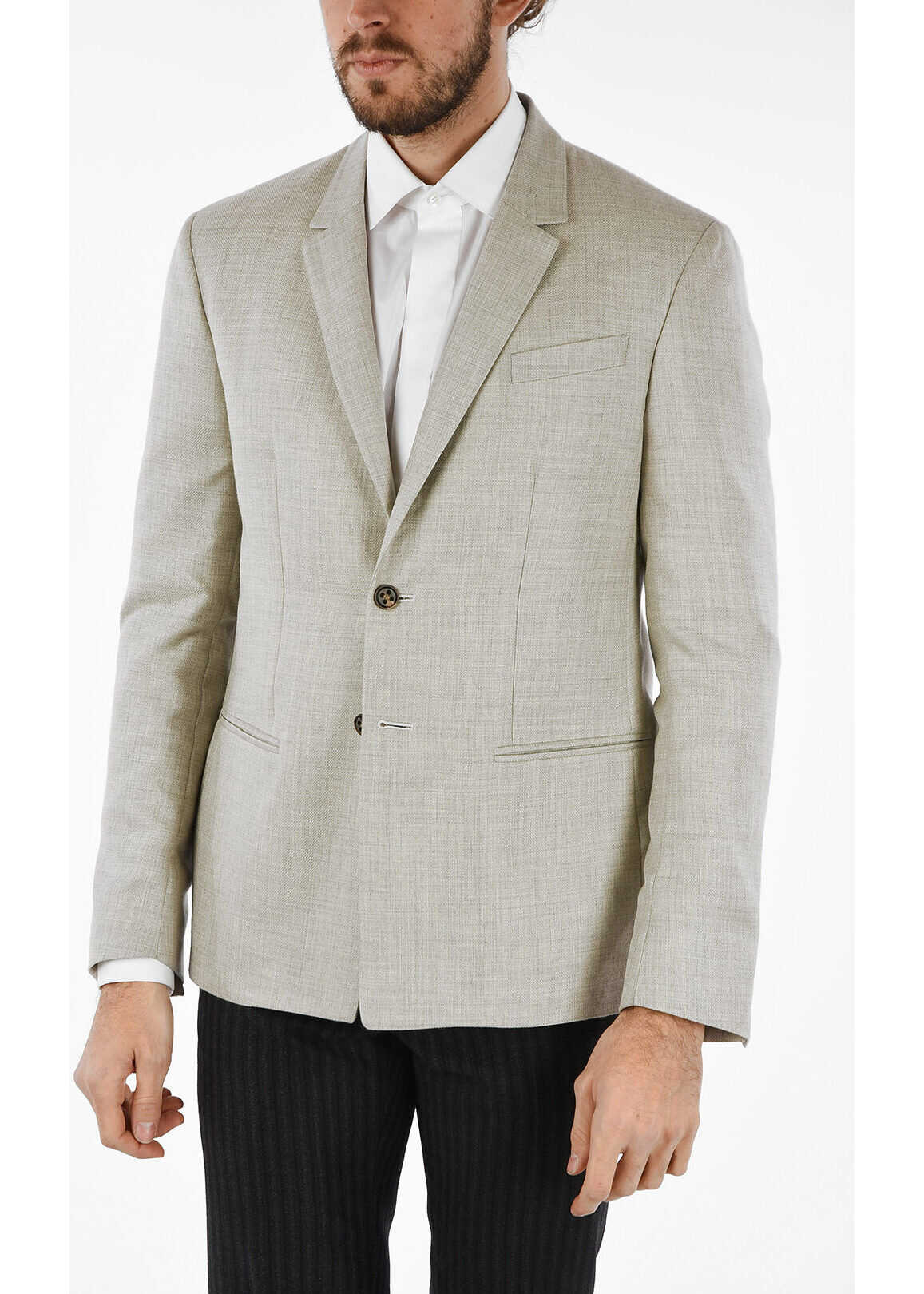 center vent notch lapel 2-button blazer thumbnail
