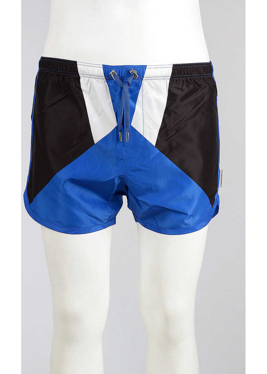 GEOMETRIC INLAY Swim Shorts thumbnail