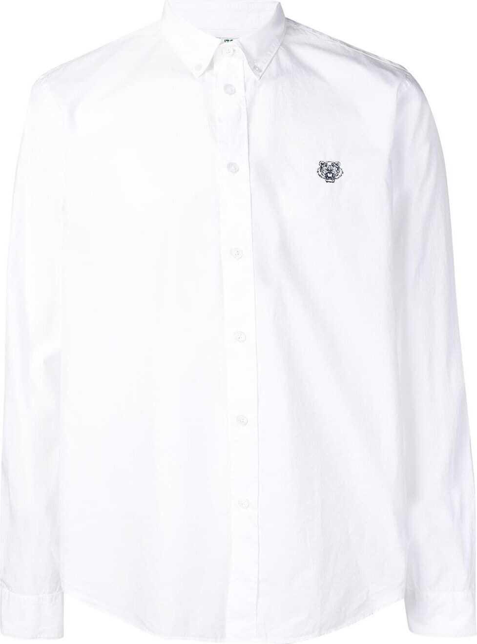 Kenzo Cotton Shirt WHITE