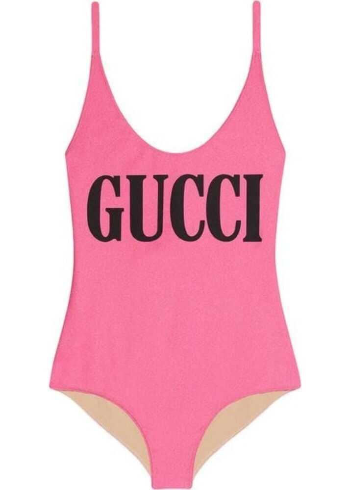 Gucci 501899Xjank5663 Synthetic Fibers One-Piece Suit PINK