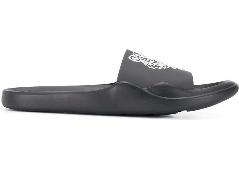 Kenzo Pvc Sandals BLACK