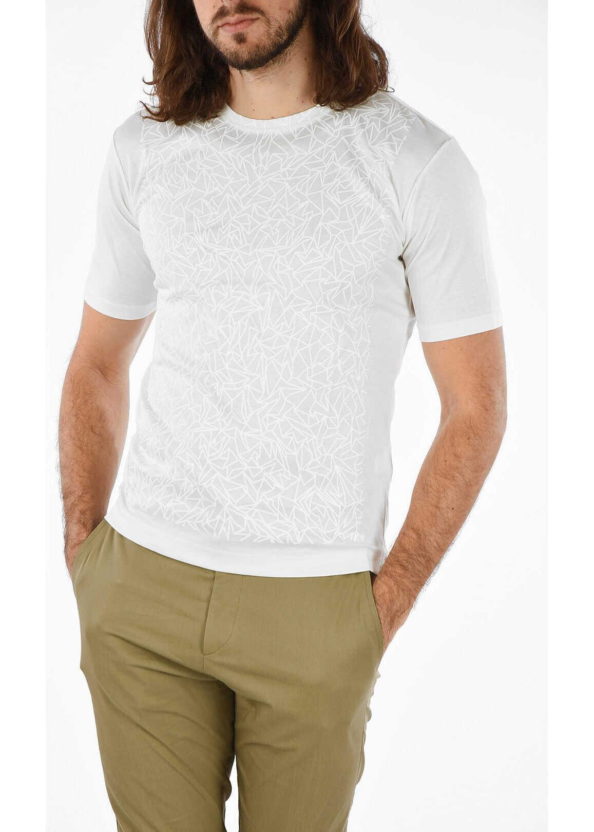 Issey Miyake Printed T-shirt WHITE