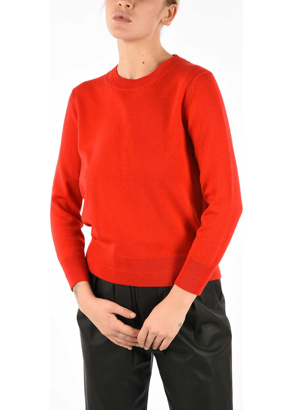 Marc Jacobs Sweater with Jewel Bottoms RED