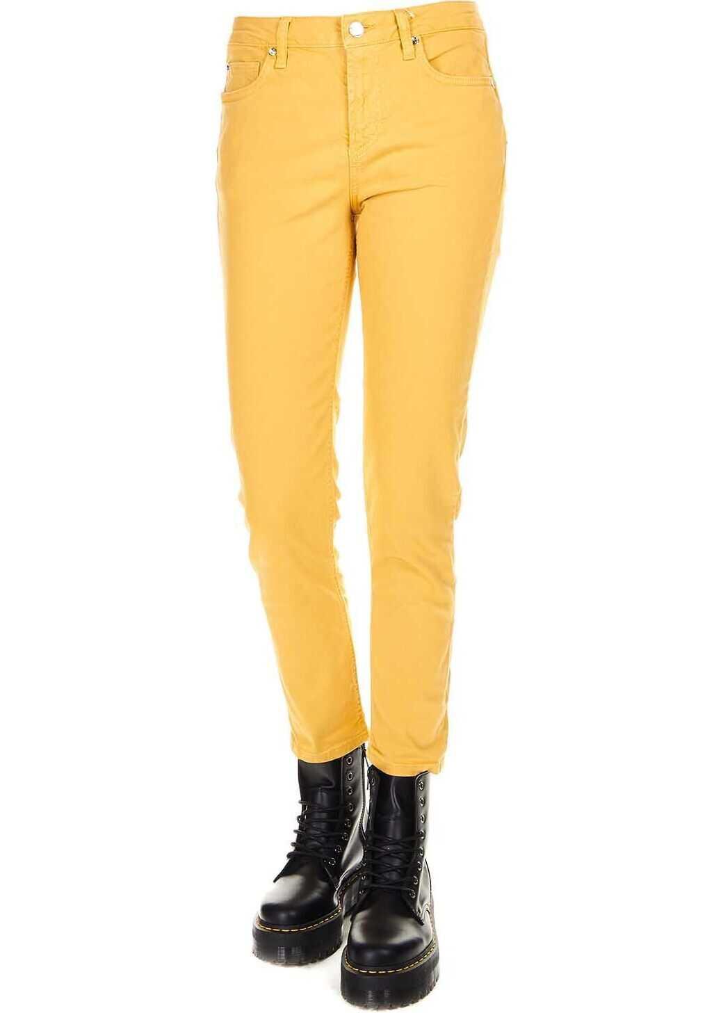 Liu Jo Cotton Jeans YELLOW