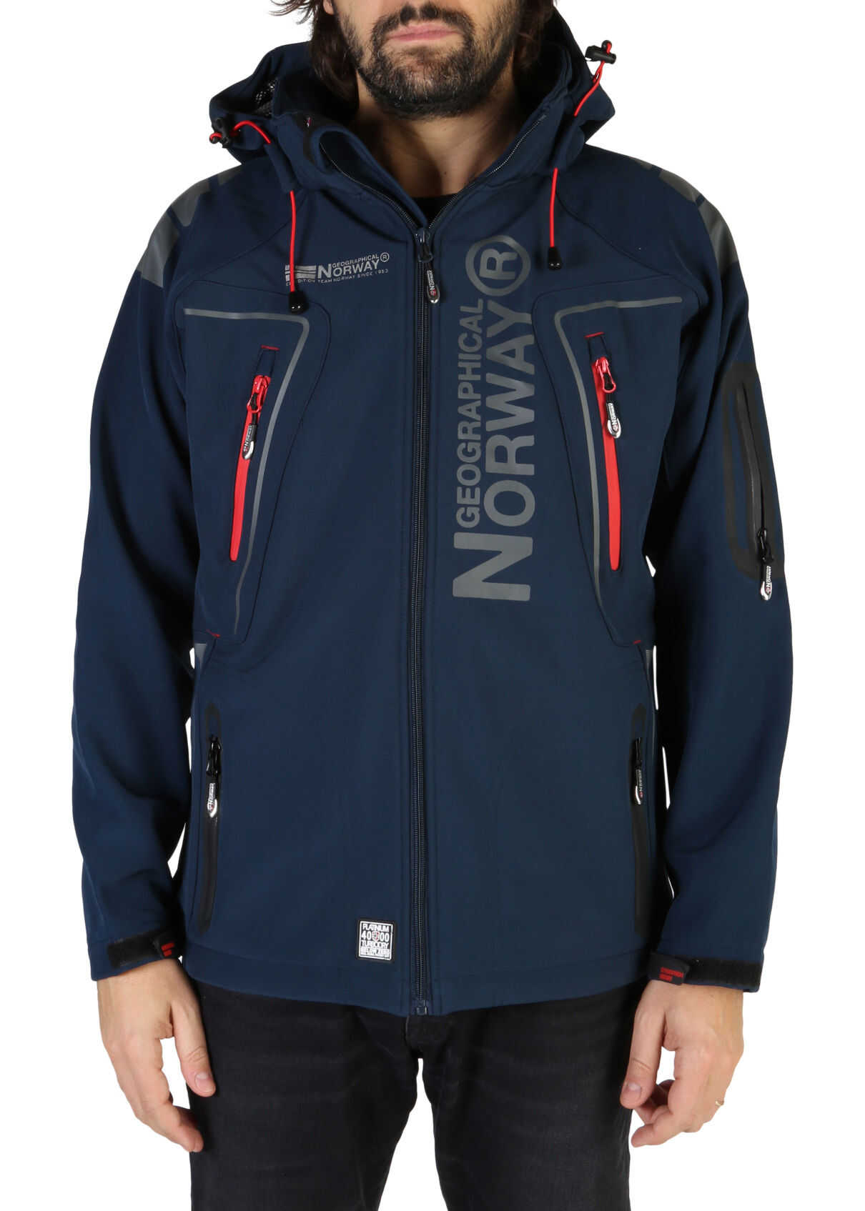Geographical Norway Techno_Man BLUE