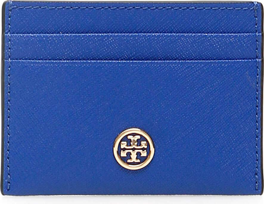Tory Burch Robinson Cardholder NAUTICAL BLUE