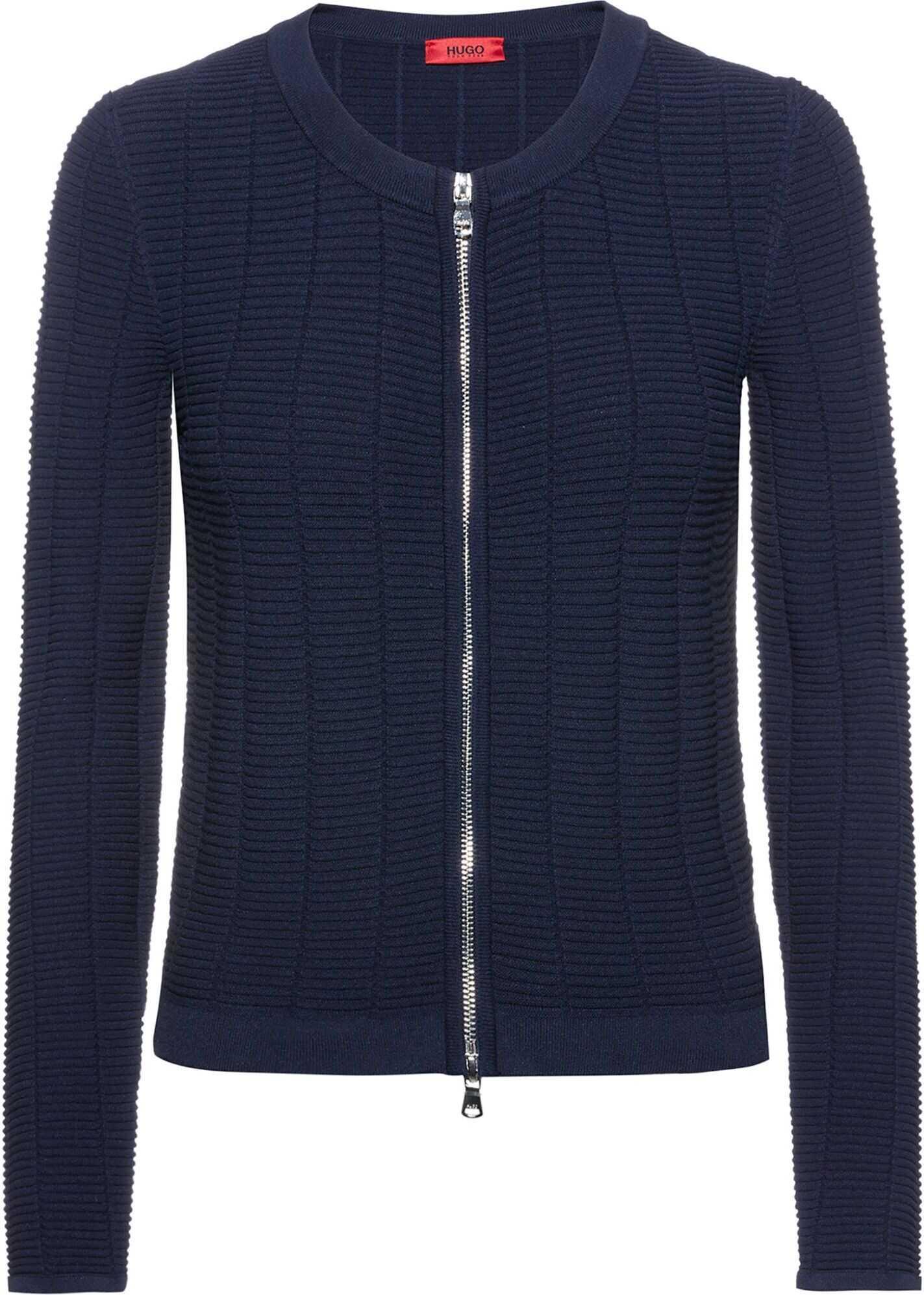 BOSS Hugo Boss Viscose Jacket BLUE