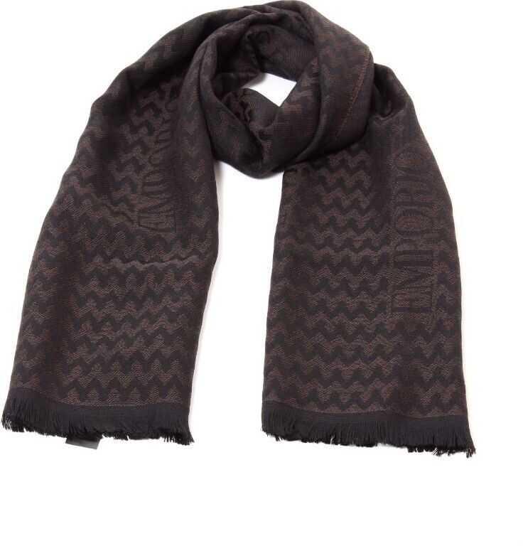 Emporio Armani Wool Scarf BROWN