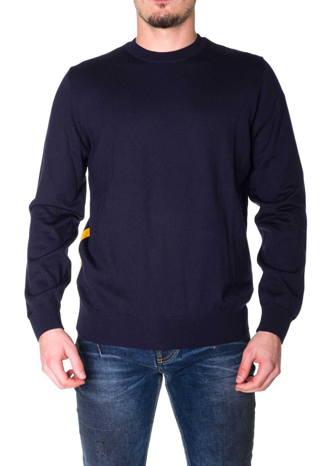 BOSS Hugo Boss Wool Sweater BLUE