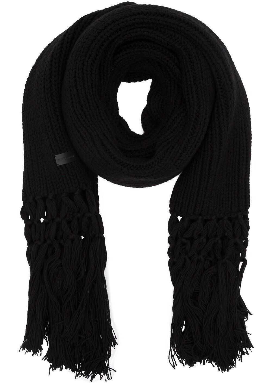 Saint Laurent Wool Scarf BLACK