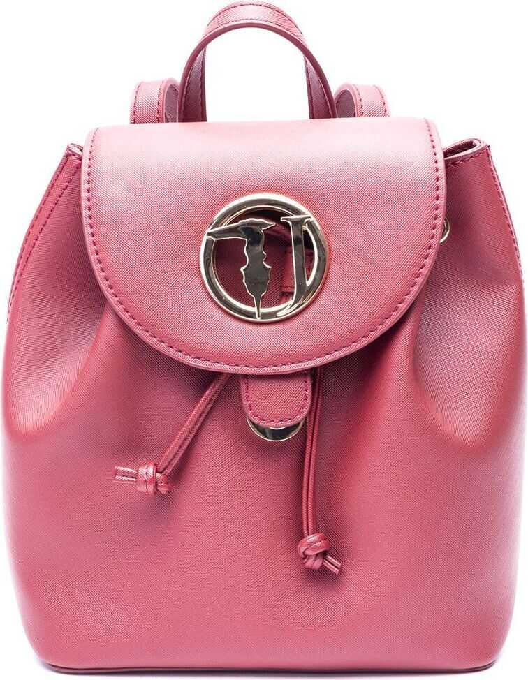 Trussardi Polyamide Backpack PINK