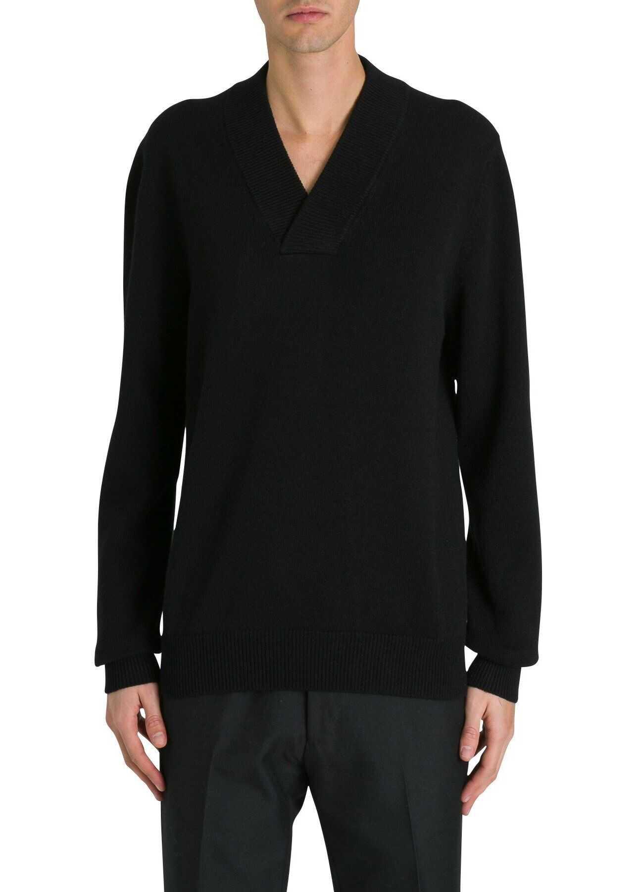 Dolce & Gabbana Wool Sweater BLACK
