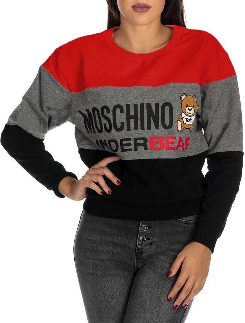 Moschino Cotton Sweatshirt MULTICOLOR