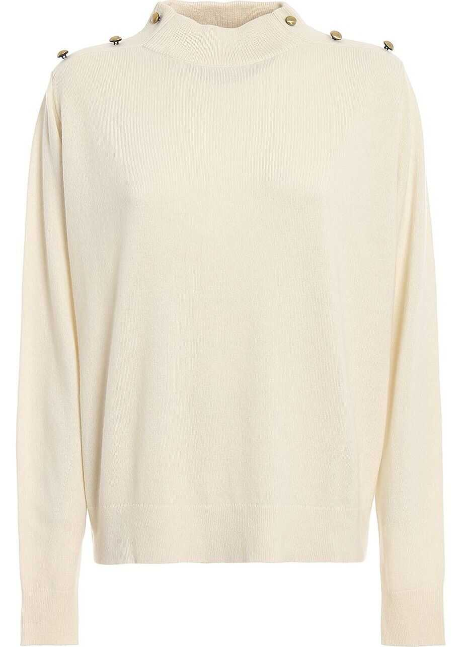 Michael Kors Wool Sweater WHITE