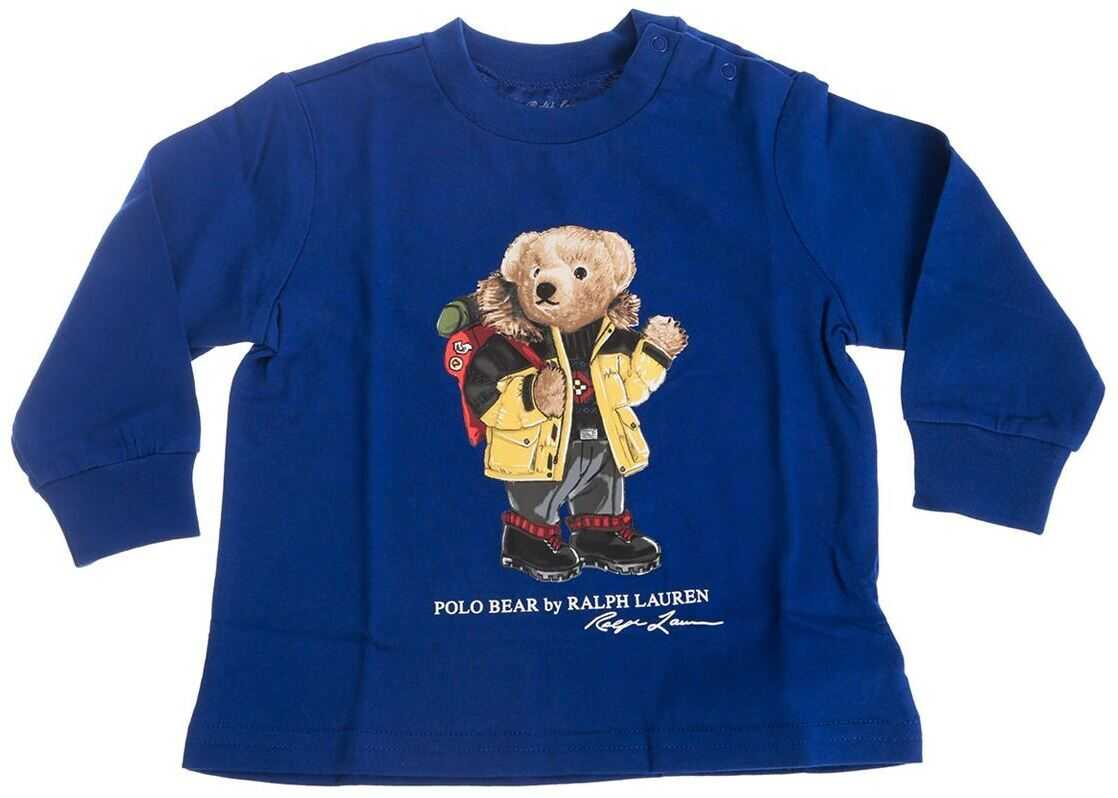 Polo Bear T-Shirt In Blue