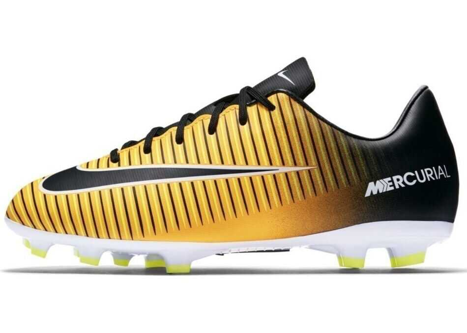 Nike Mercurial Victory VI Firmground Football Boots* NEGRE/GALBENE