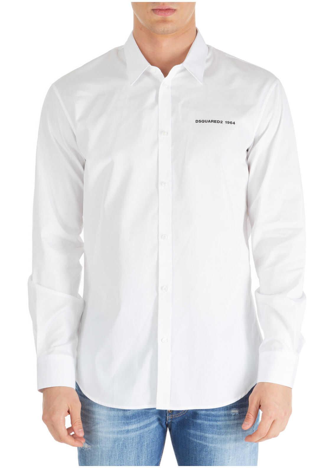 DSQUARED2 Dress Shirt White
