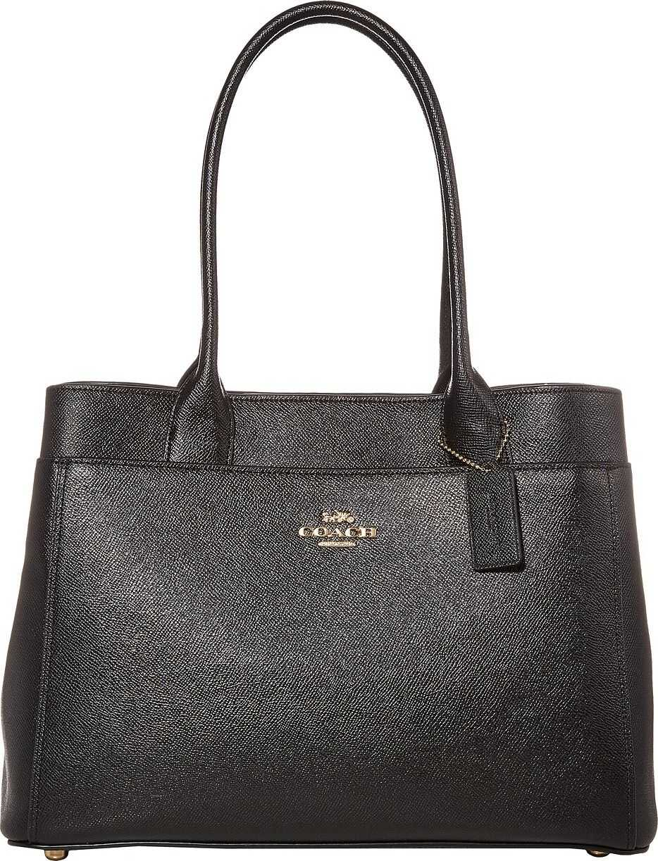 COACH Cross Grain Casey Tote Black