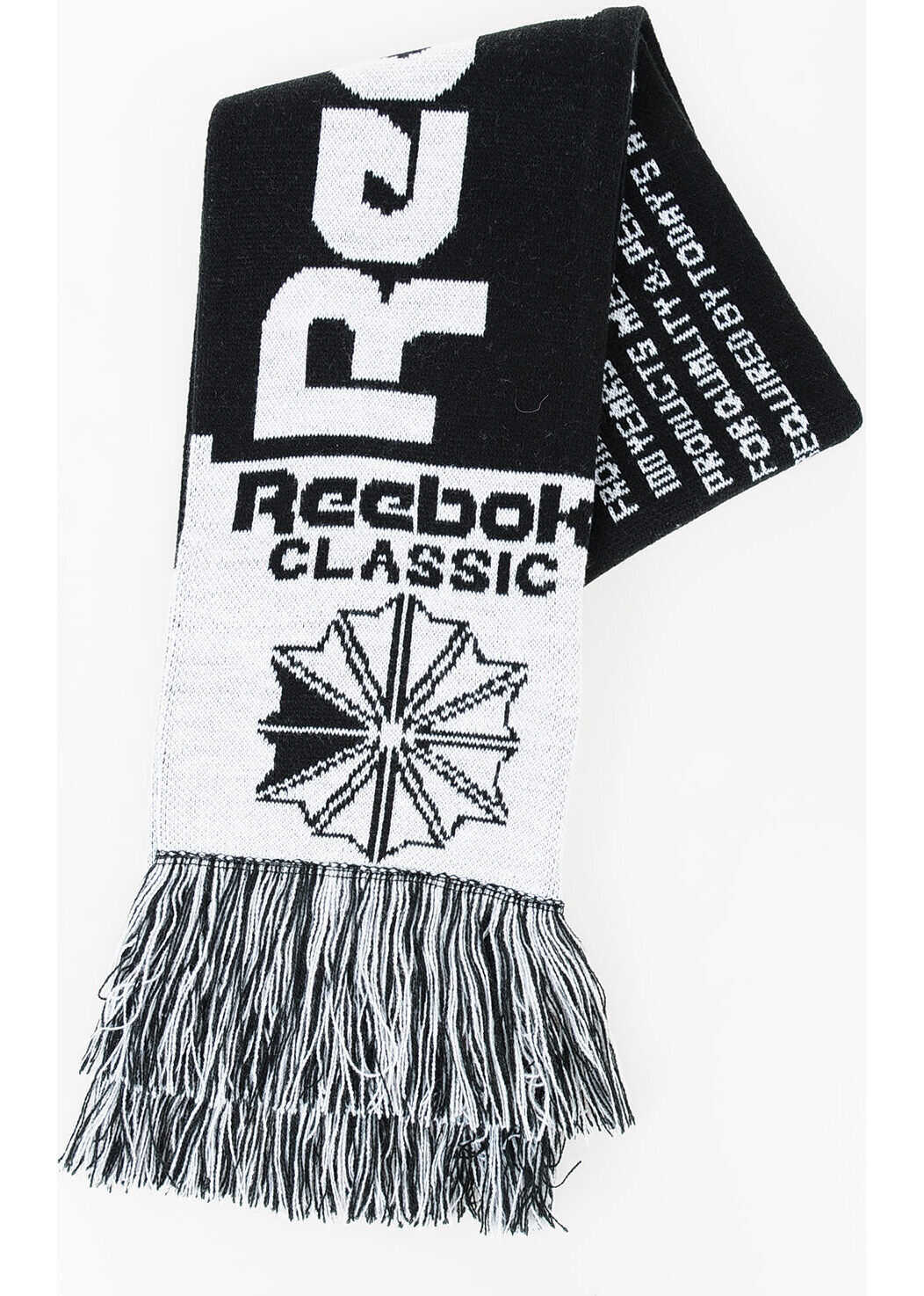 Reebok Football Scarf BLACK & WHITE